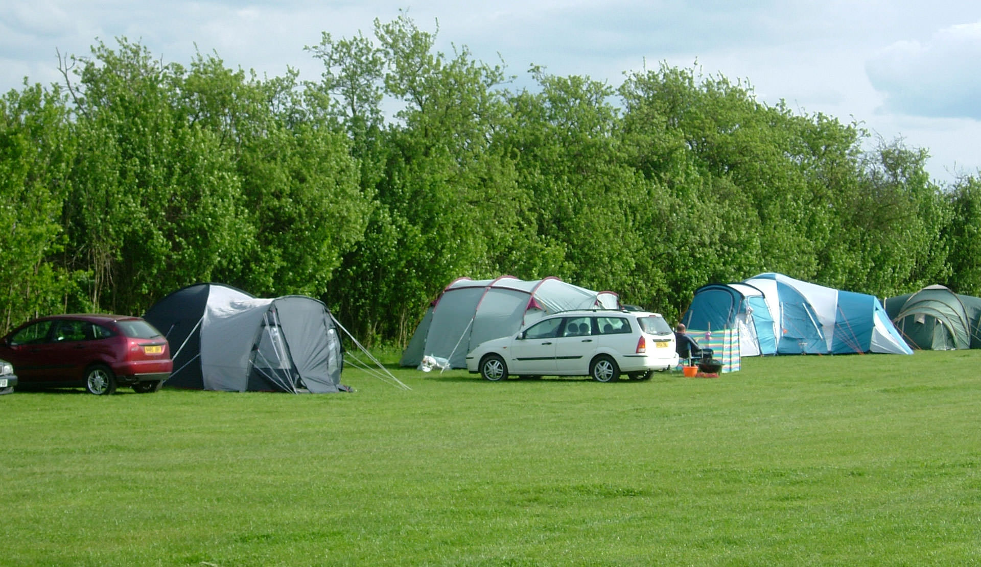 small campsite in kent Palace Farm